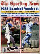 The Sporting News: 1982 Baseball Yearbook Magazine