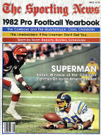 The Sporting News: 1982 Pro Football Yearbook Magazine