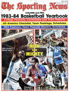 The Sporting News 1983-84 Basketball Yearbook Magazine