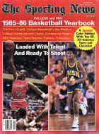 The Sporting News 1985-86 Basketball Yearbook Magazine