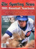 The Sporting News: 1985 Baseball Yearbook Magazine