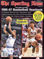 The Sporting News 1986-87 Basketball Yearbook Magazine