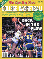 The Sporting News. 1987-88 College Basketball Yearbook Magazine