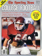 The Sporting News: 1987 College Football Yearbook Magazine