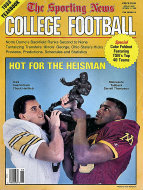 The Sporting News: 1988 College Football Yearbook Magazine
