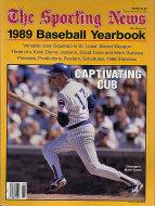 The Sporting News 1989 Baseball Yearbook Magazine