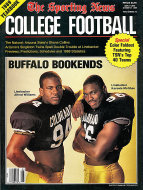 The Sporting News: 1989 College Football Yearbook Magazine
