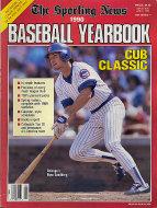 The Sporting News 1990 Baseball Yearbook Magazine