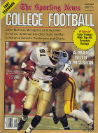 The Sporting News College Football Yearbook 1987 Magazine