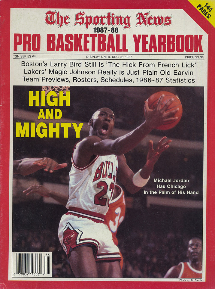 The Sporting News Pro Basketball Yearbook 1987 88 Magazine Dec 31