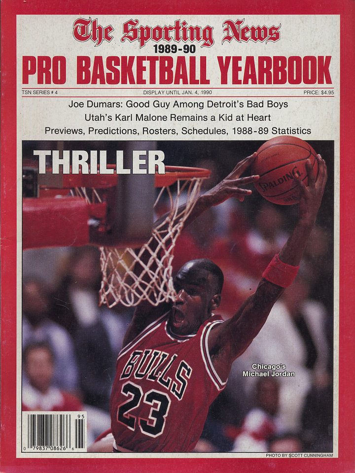 The Sporting News Pro Basketball Yearbook 1989-90