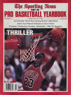 The Sporting News Pro Basketball Yearbook 1989-90 Magazine