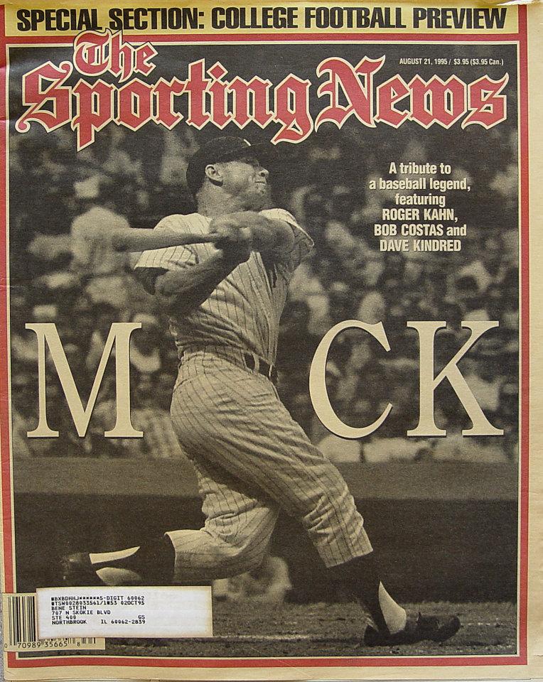 The Sporting News Vol. 219 No. 34