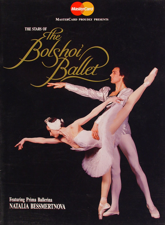 The Stars Of Bolshoi Ballet Program