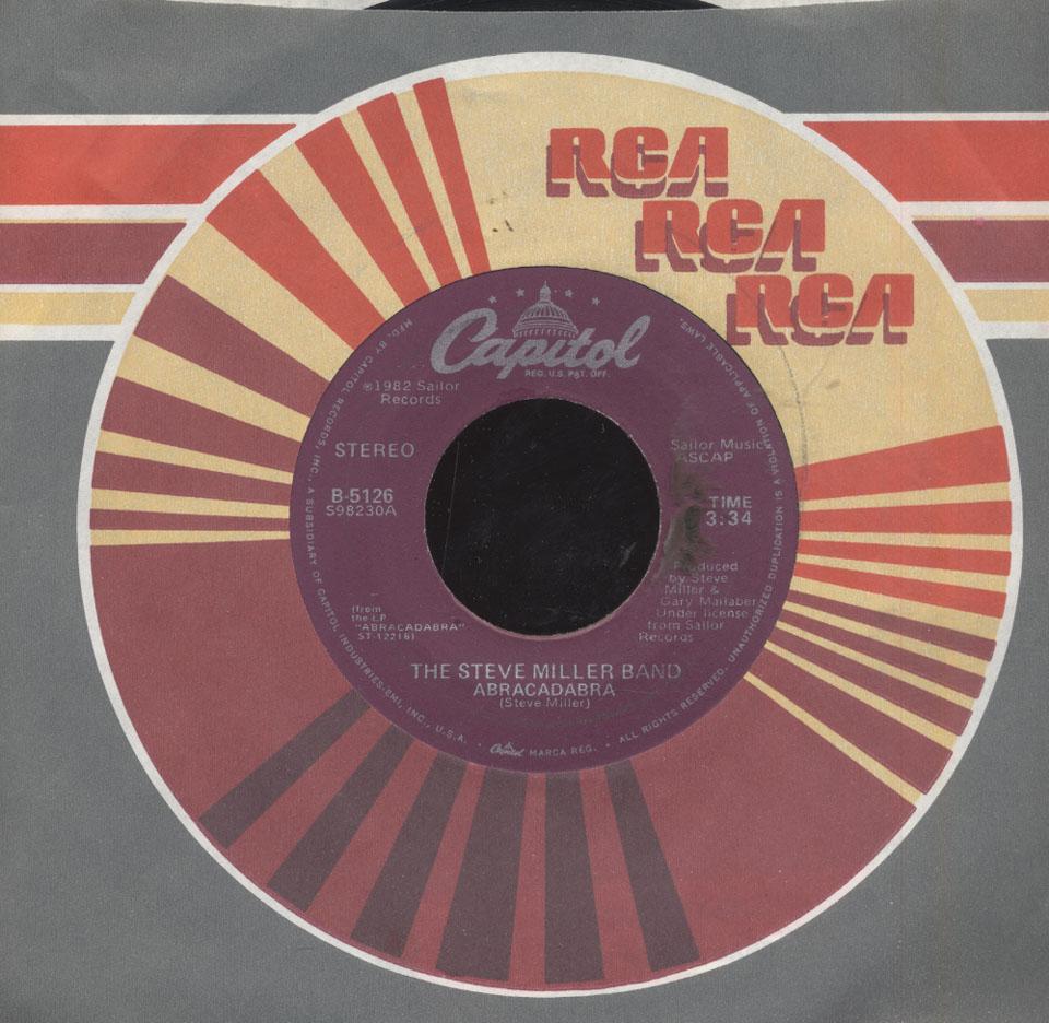 """The Steve Miller Band Vinyl 7"""" (Used)"""