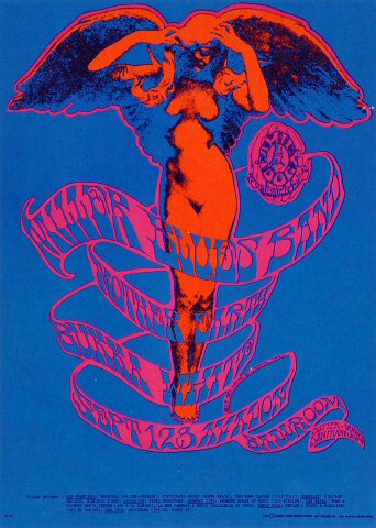 The Steve Miller Blues Band Postcard