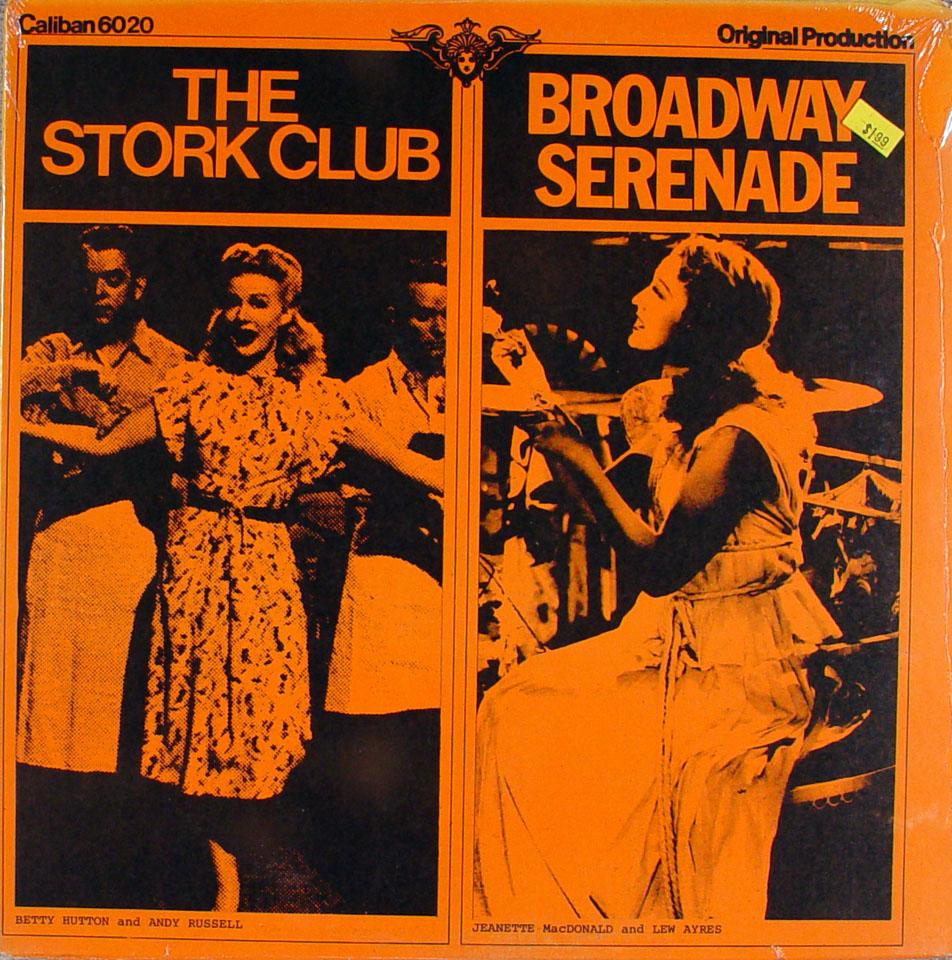 "The Stork Club / Broadway Serenade Vinyl 12"" (New)"