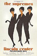 The Supremes Handbill