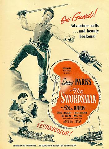 The Swordsman Vintage Ad