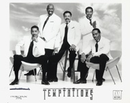 The Temptations Promo Print