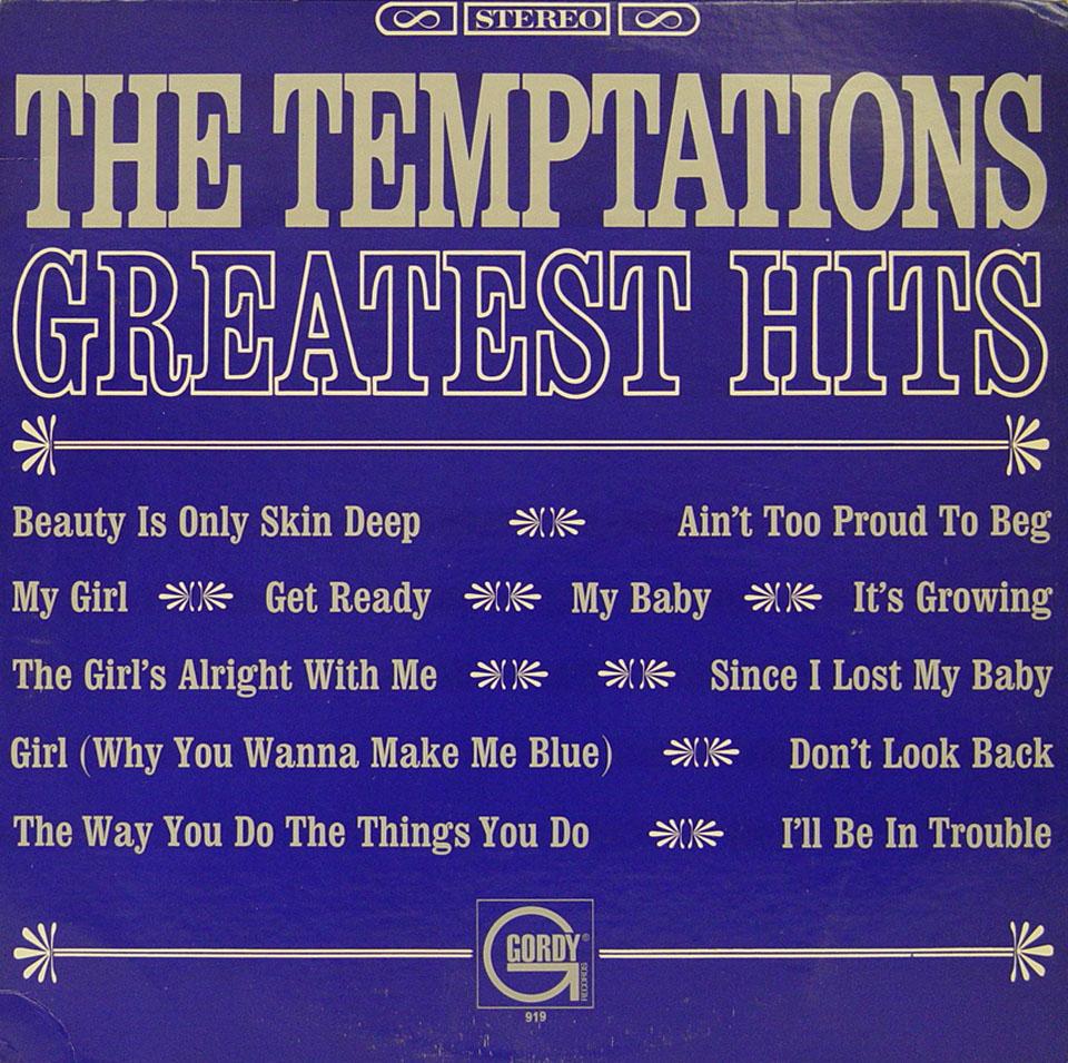 "The Temptations Vinyl 12"" (Used)"