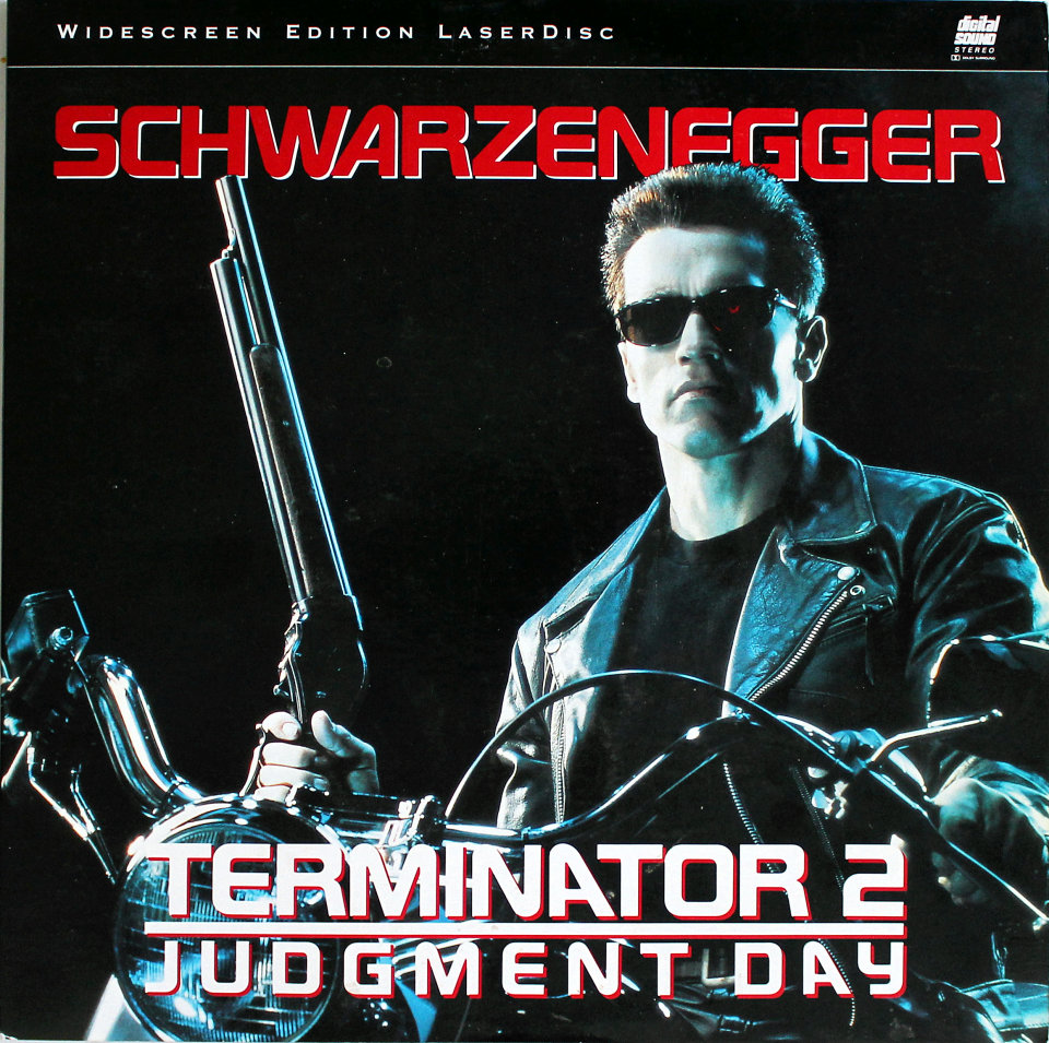 The Terminator 2: Judgement Day Laserdisc