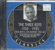 The Three Keys / Bon Bon & His Buddies CD
