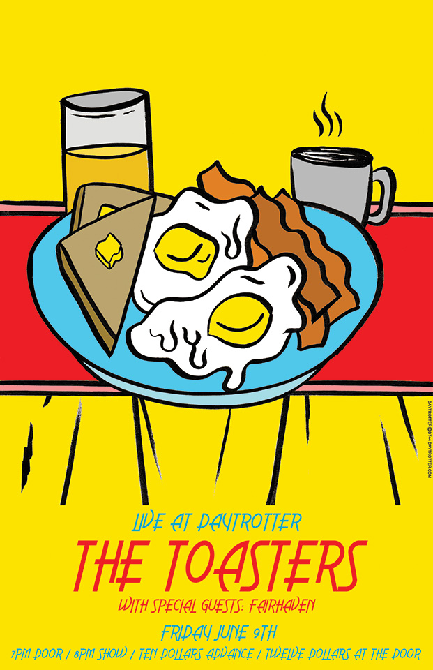 The Toasters Poster