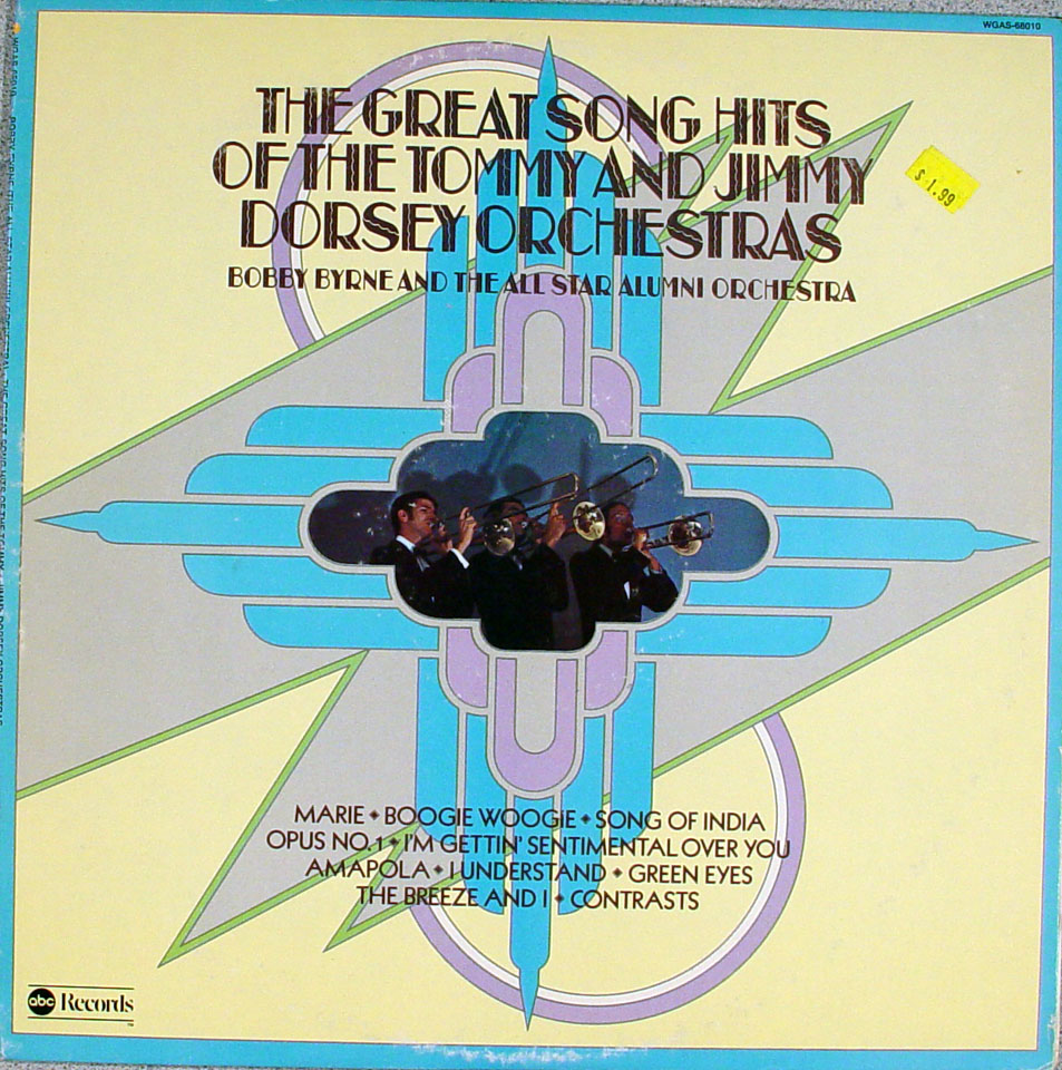 """The Tommy And Jimmy Dorsey Orchestras Vinyl 12"""" (Used)"""
