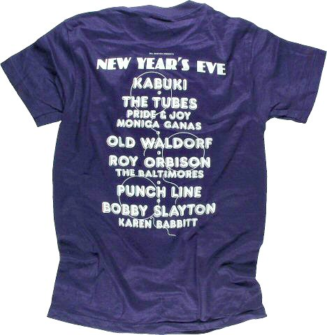 The Tubes Men's Vintage T-Shirt reverse side