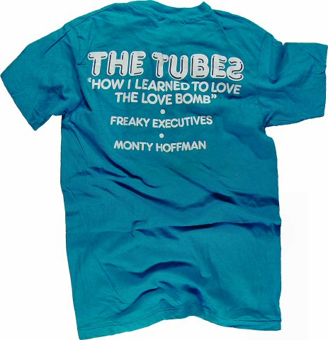 The Tubes Men's Vintage T-Shirt reverse side