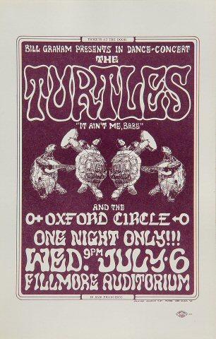 The Turtles Handbill