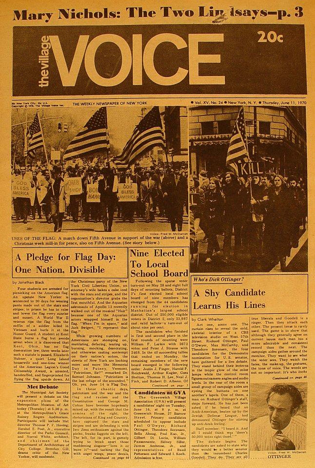 The Village Voice Vol. 15 No. 24
