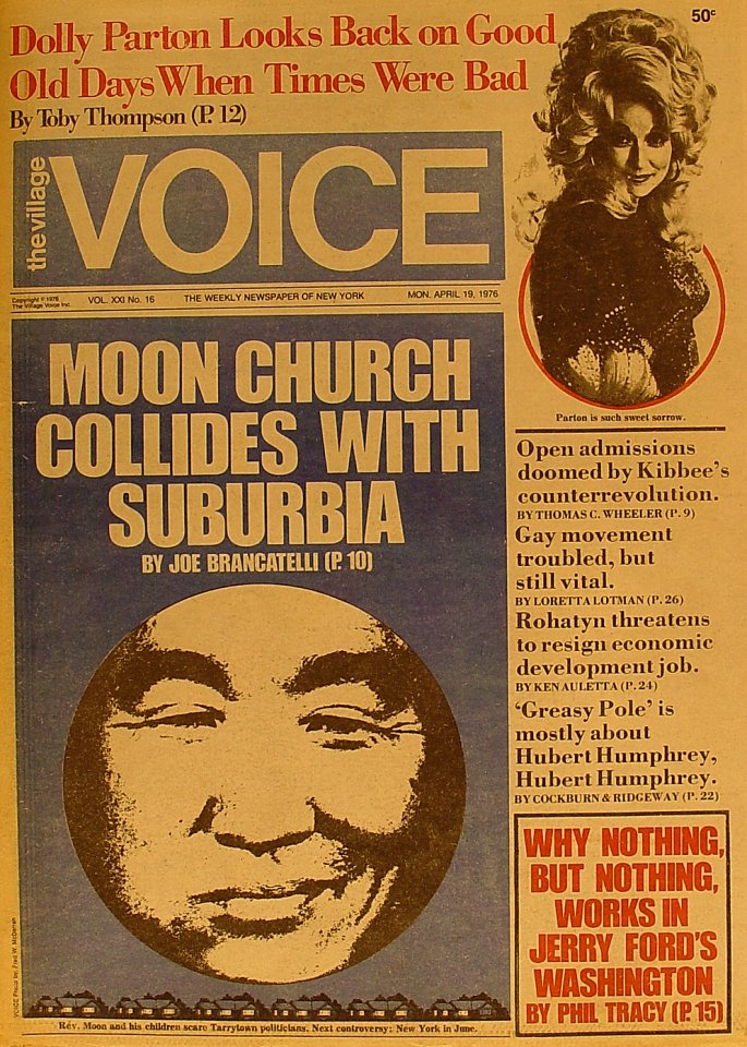 The Village Voice Vol. 21 No. 16