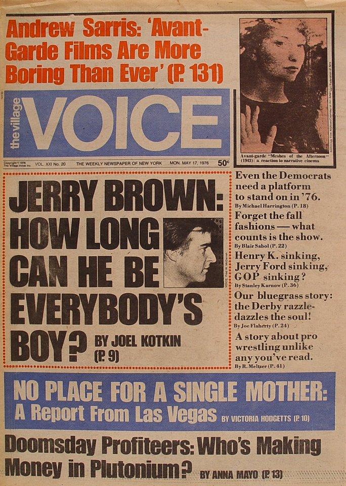 The Village Voice Vol. 21 No. 20
