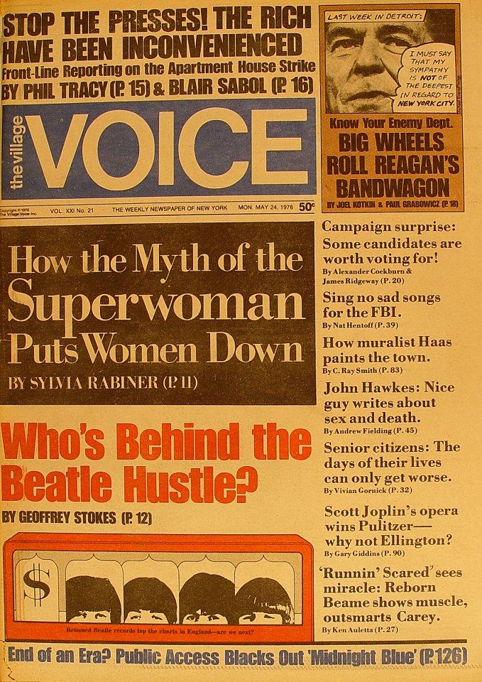 The Village Voice Vol. 21 No. 21