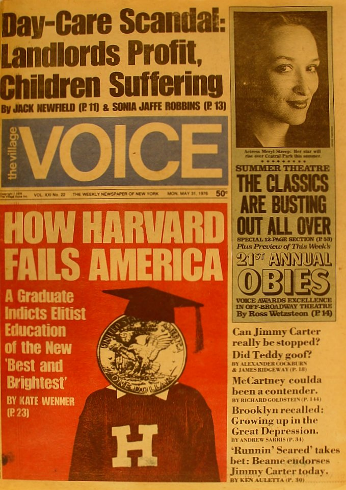 The Village Voice Vol. 21 No. 22