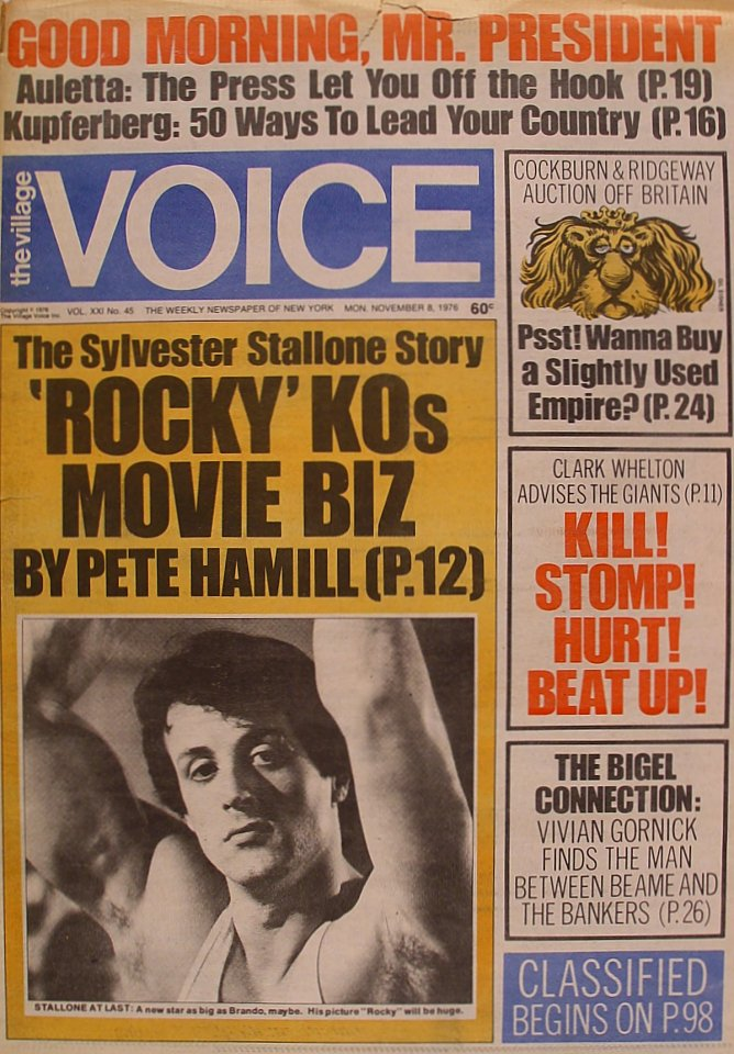 The Village Voice Vol. 21 No. 45