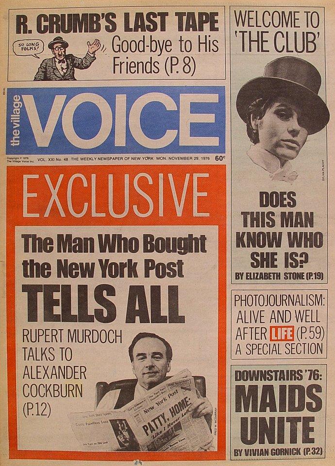 The Village Voice Vol. 21 No. 48