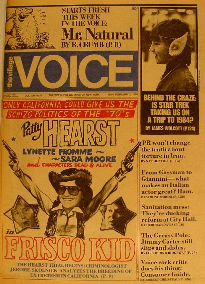 The Village Voice Vol. 21 No. 5