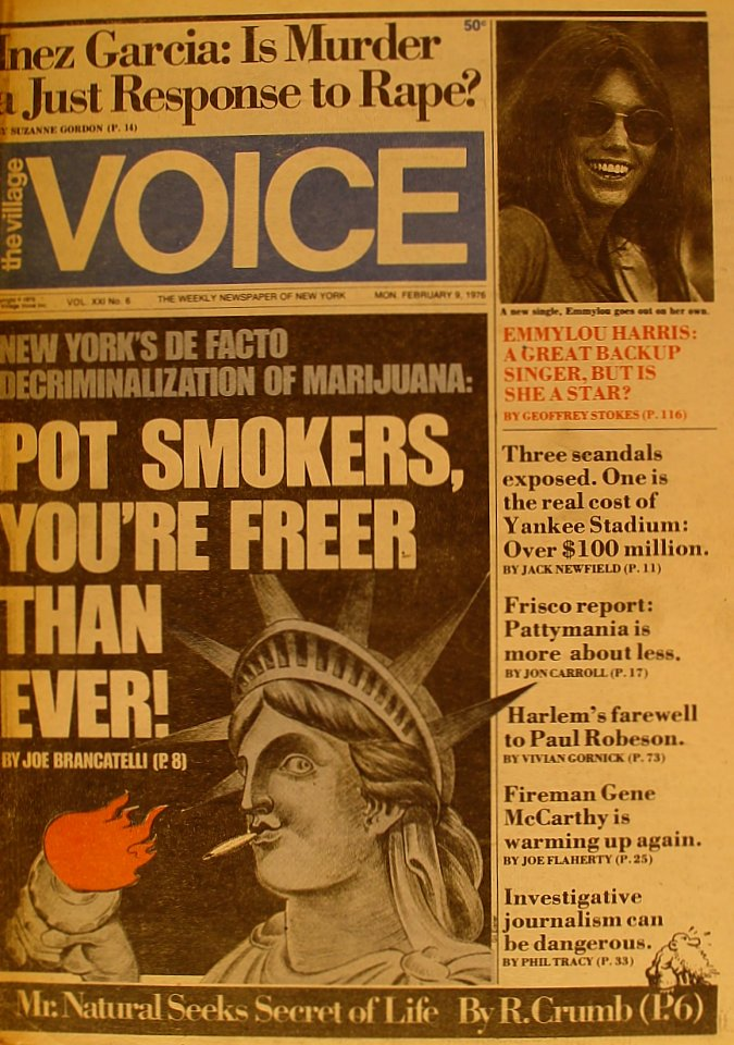 The Village Voice Vol. 21 No. 6
