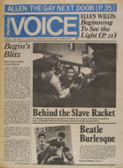 The Village Voice Vol. 23 No. 13 Magazine