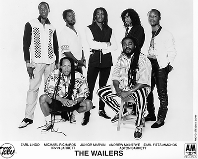 The Wailers Promo Print