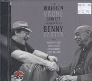 The Warren Vache Quintet Remembers Benny Carter CD