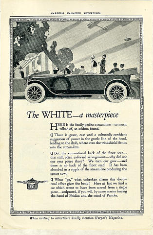 The White Vintage Ad