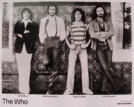 The Who Promo Print