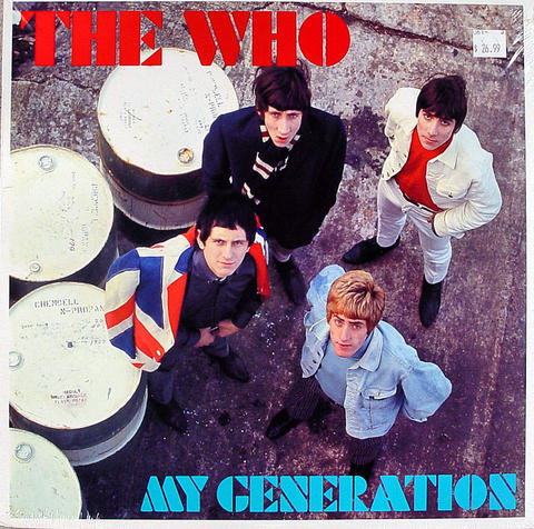 "The Who Vinyl 12"" (New)"