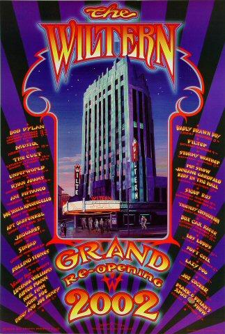 The Wiltern Grand Re-Opening Poster