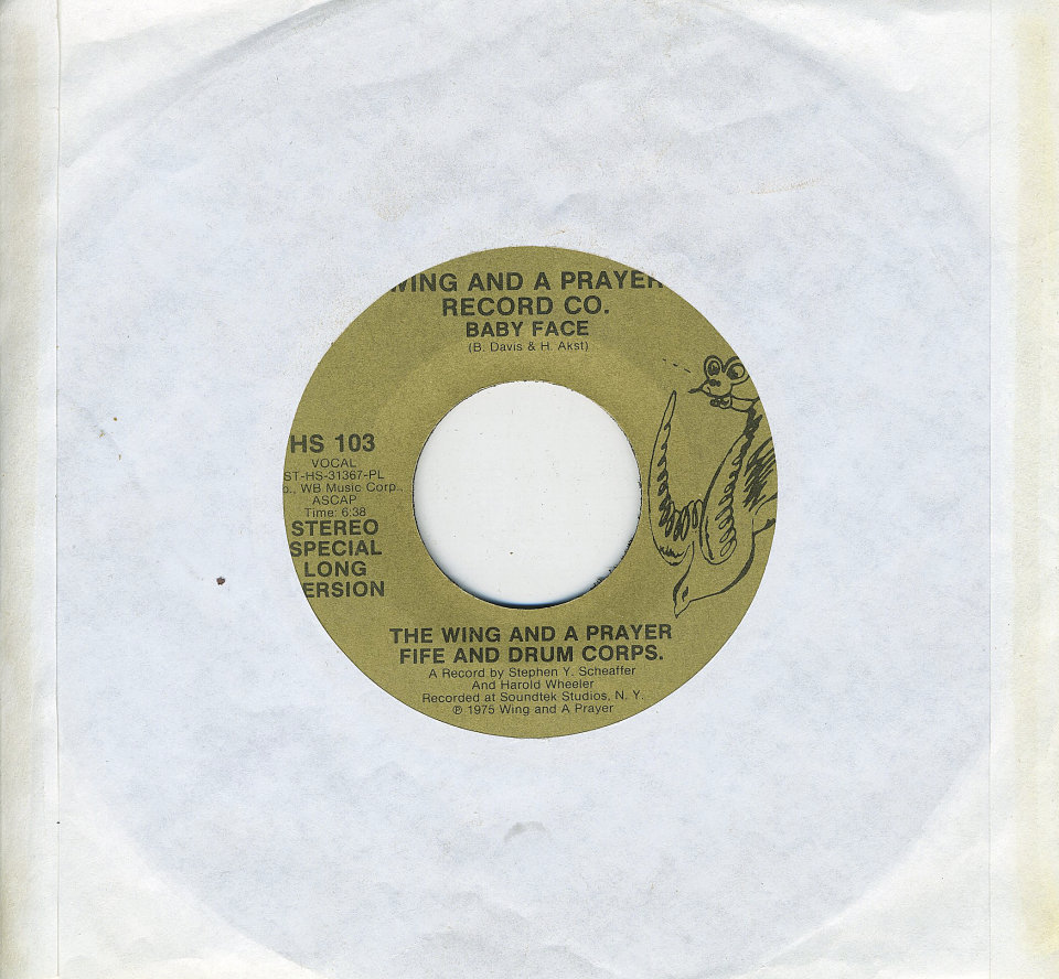 "The Wing And A Prayer Fife And Drum Corps. Vinyl 7"" (Used)"