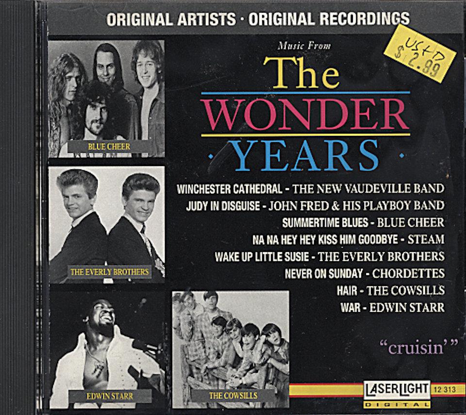 The Wonder Years: Cruisin' CD